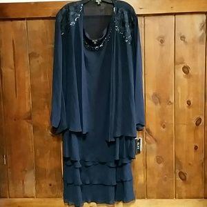 SL NY 2 Piece Jacket Dress